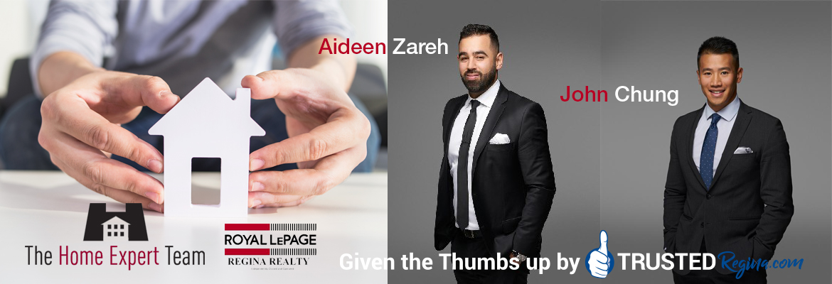 Aideen Zareh and John Chung-  The Home Expert Team - Royal LePage Regina Realty